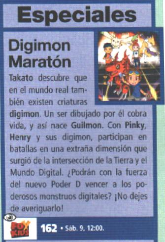 Maratón de Digimon